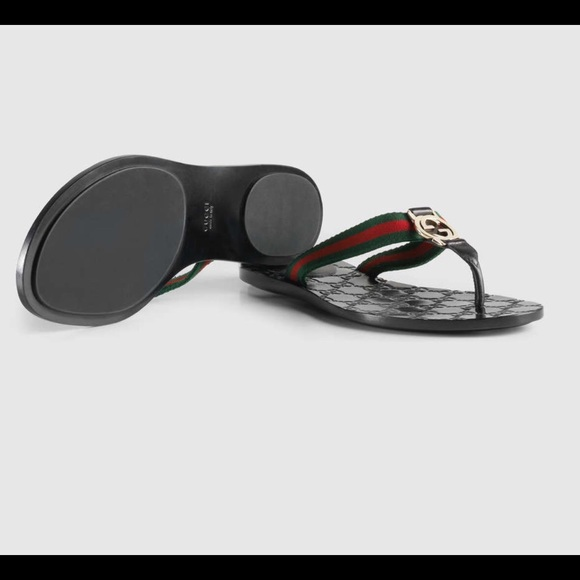 7dae509c85b3 Gucci Shoes - GG THONG WEB SANDAL